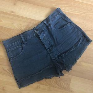 Brandy Melville Dark Denim Shorts